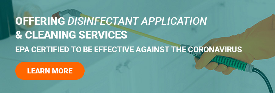 Offering Disinfectant Application & Cleaning Services | EPA Certified to be effective against the Coronavirus